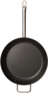 Frying pan top down PNG