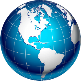 Cartoon Globe PNG