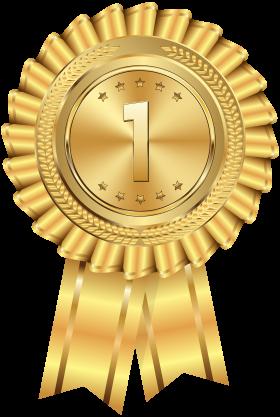 Gold Medal PNG