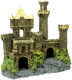 Artist Impression - Golden Castle PNG