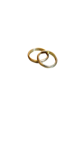 Golden Rings PNG