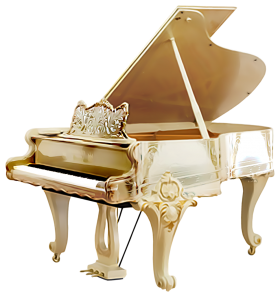 Grand Piano PNG