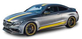 Gray Mercedes AMG Car PNG