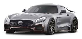 Gray Mercedes AMG GT S Car PNG