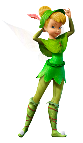 Green Fairy PNG
