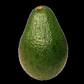 Green Fresh Avocado PNG