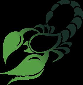 Green Scorpio Symbol PNG