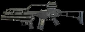 Grenade Launcher Gun PNG