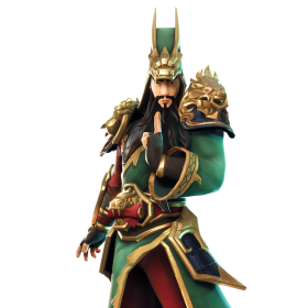 Guan Yu Skin Fortnite Full Body PNG