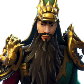 Guan Yu Skin Fortnite Icon PNG