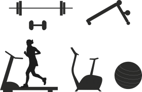 Gym Equipments PNG