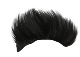 Hair Spikes Style PNG