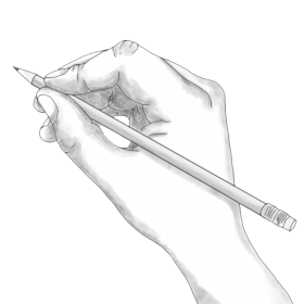 Hand Draw Art PNG
