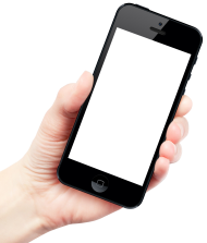Hand Holding Smartphone Apple iPhone PNG