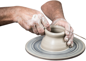 Handmade Vase Pottery PNG