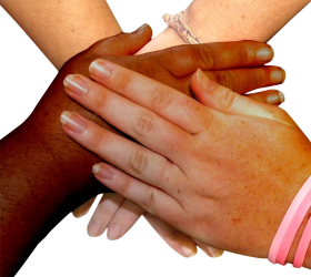 Hands on Hand PNG