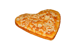 Heart Shaped Nuts Cake PNG