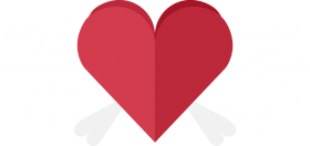 Heart with Wings PNG