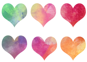 Hearts Art PNG