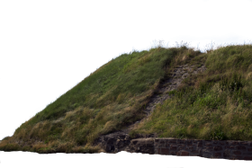 Hill  With Grass PNG