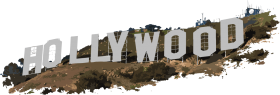 Hollywood Letters PNG