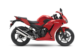 Honda CB300R 2019 Red PNG