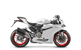 Honda CB300R 2019 White Red Wheels PNG