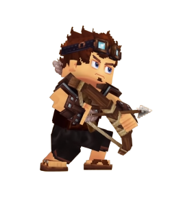 Hytale Character PNG