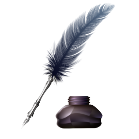 Inkwell Pen PNG
