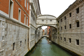 Italy Houses seperated by Water PNG
