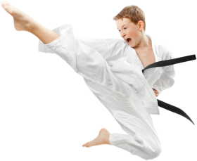 Karate Boy PNG