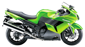 Kawasaki Heavy Sports Bike PNG