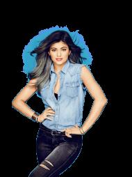 Kylie Jenner Black Jeans PNG