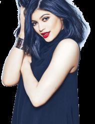 Kylie Jenner Blue Shirt PNG