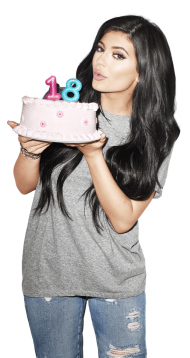 Kylie Jenner Cake 18 PNG