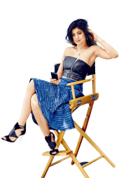 Kylie Jenner Sitting PNG