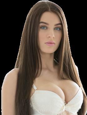 Lana Rhoades White Underwear PNG