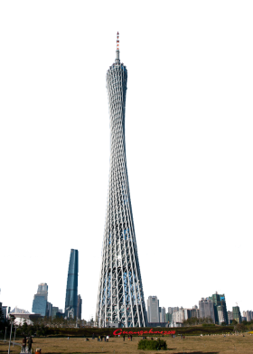 Guangzhou Tower - China PNG
