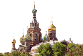 Cathederal of the Resurrection of Christ -Russia PNG