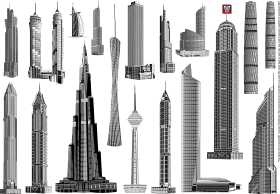 World Towers PNG