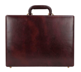 Leather Briefcase PNG PNG