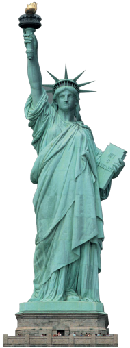 Liberty Statue USA PNG