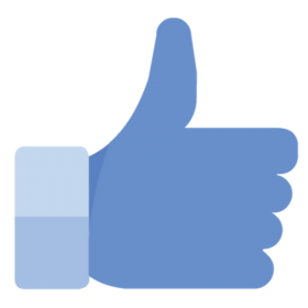 Like Thumbs up symbol PNG
