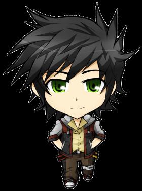 Little Anime Boy PNG