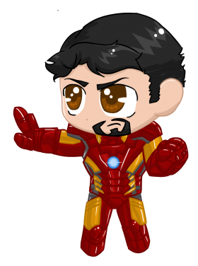 Little Iron Man PNG
