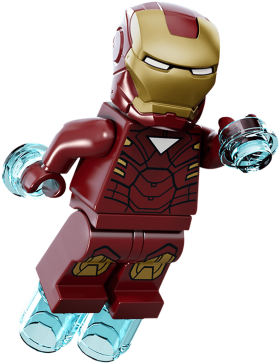 Little Iron Man PNG