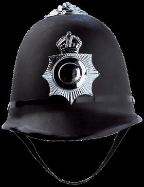 British Police Helmet PNG