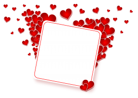 Love Heart Frame PNG