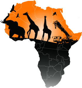 Map of Africa PNG