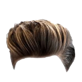Mens Hair PNG